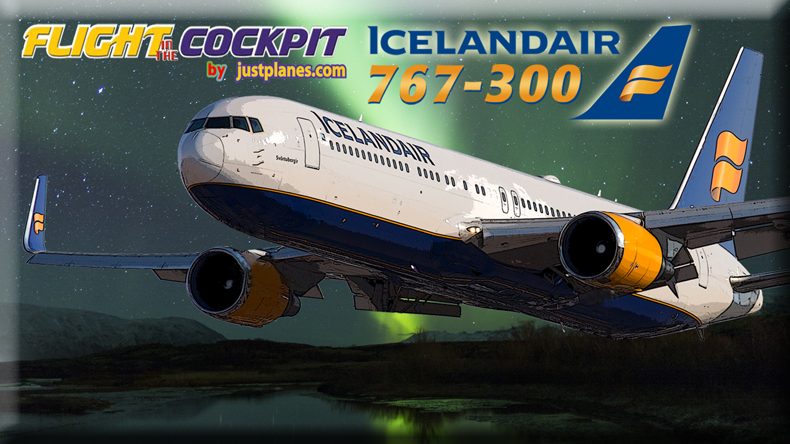 FlightSim Com - Justplanes com Releases Icelandair Video